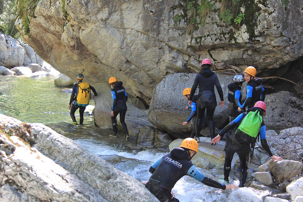 canyoning en Espagne