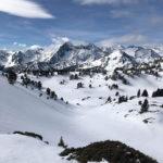 lac de Bastan sous la neige